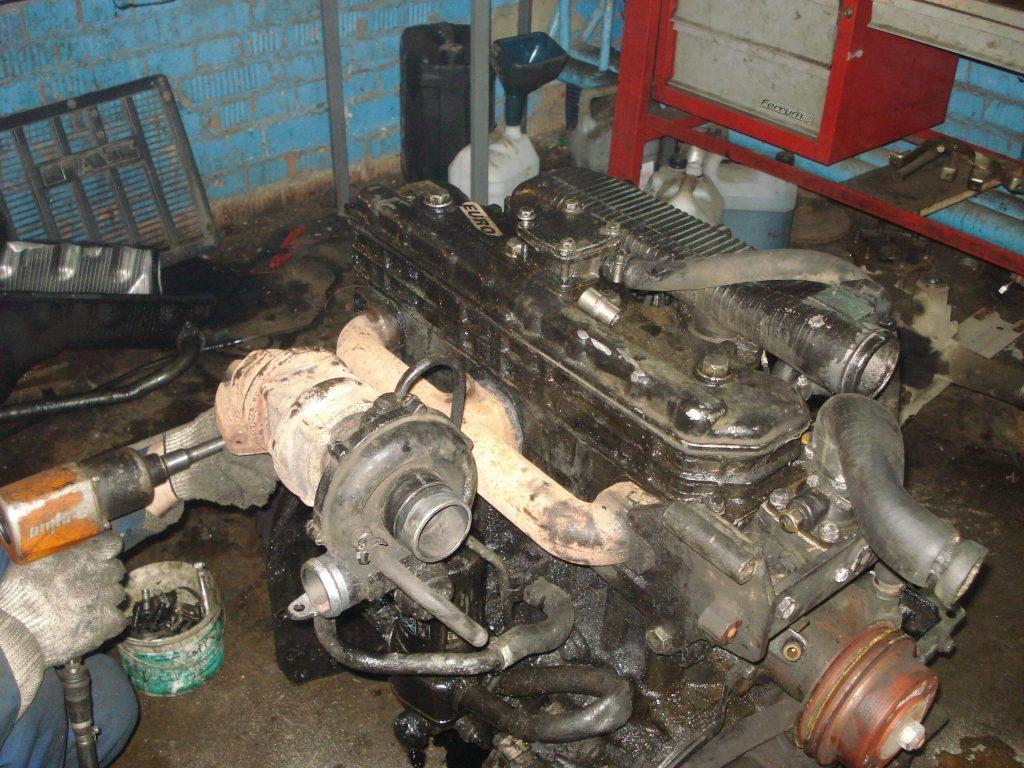 Ремонт двигателя 245 евро 2 своими руками 26