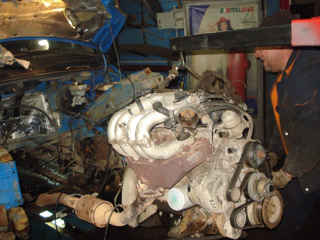 Регулировка клапанов двигателя 4216