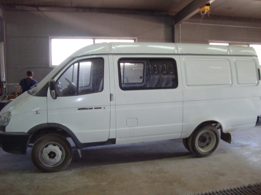 Переоборудование ГАЗ-2705 в грузопассажирское ТС